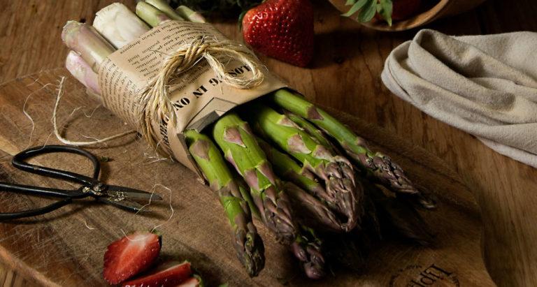Asparagus at Hoovers Farm