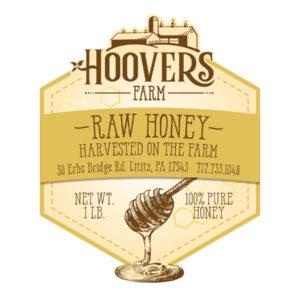 Hoovers Raw Honey